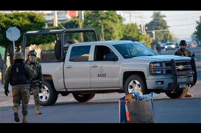 La Marina mata a 5 y detiene a 6 durante tiroteo en Los Mochis