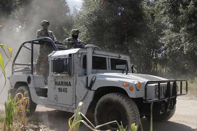 Detecta la Marina una toma y combustible robado en Puebla