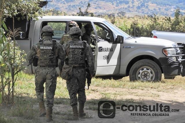 Un marino muerto y 3 heridos deja ataque armado en Xicotepec