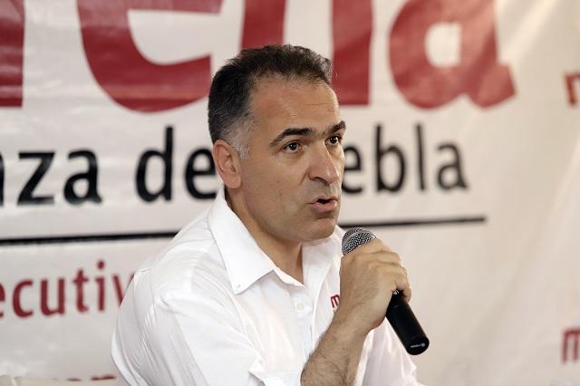 Mario Bracamonte valora buscar la dirigencia de Morena en Puebla
