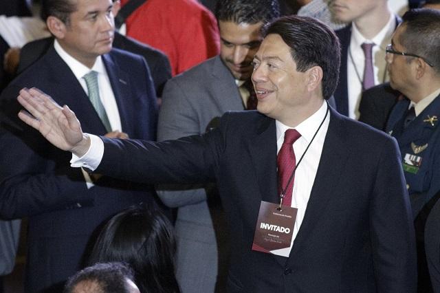 Elección de consejeros del INE se mantiene: Mario Delgado