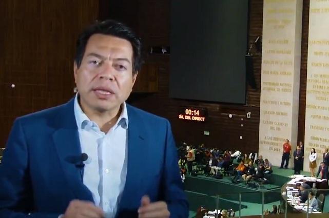 Diputados no tendrán aguinaldo de 200 mil pesos, sino de 33 mil: Delgado