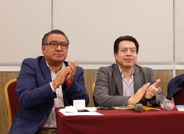 Diputados de Morena sí pagarán consulta sobre NAICM, dice Mario Delgado