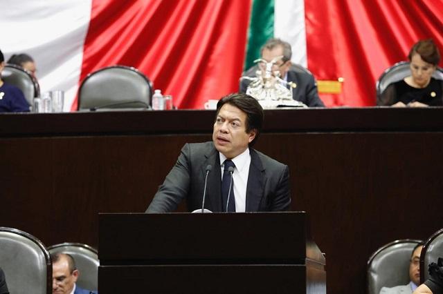 Mario delgado le revira a la Suprema Corte que nadie ganará más que AMLO