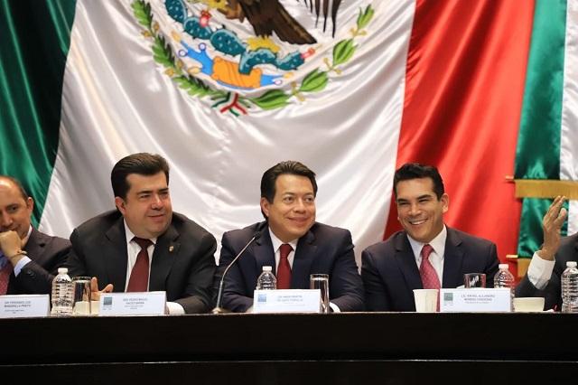 La reforma laboral se votará la semana que entra, dice Mario Delgado