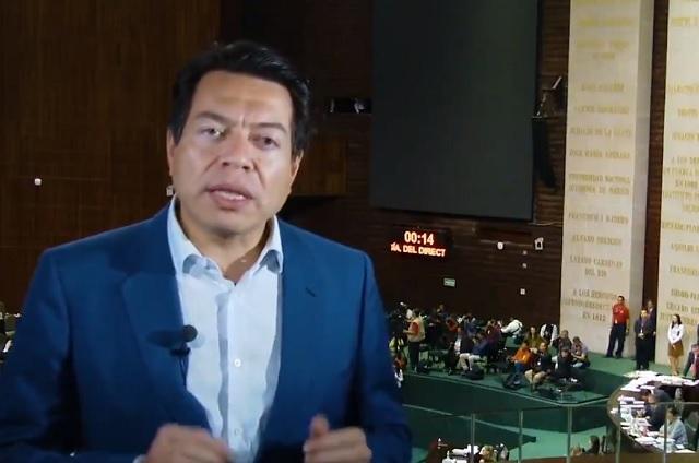 Reforma laboral acabará con el charrismo sindical, dice Mario Delgado
