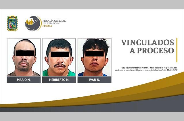 Apresan a tres por tentativa de homicidio en Cañada Morelos