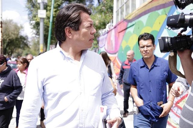 Tras quedar fuera de asamblea, Mario Delgado pide renovar a Morena