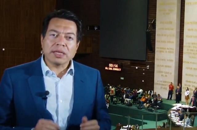 Morena buscará aprobar Ley de Austeridad en septiembre: Mario Delgado