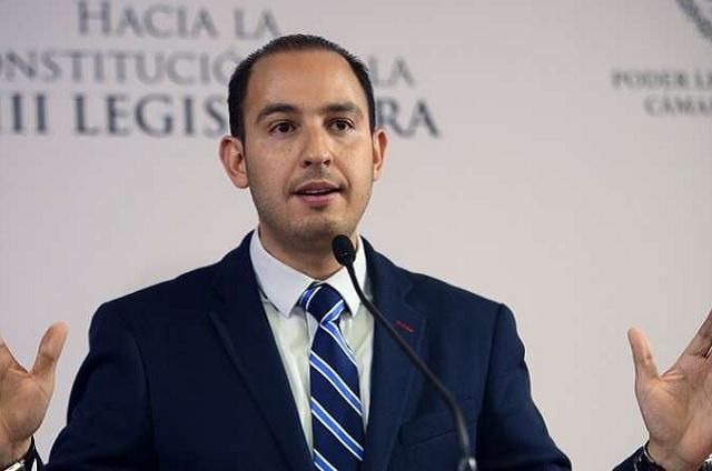 Marko Cortés acepta que quiere ser presidente nacional del PAN