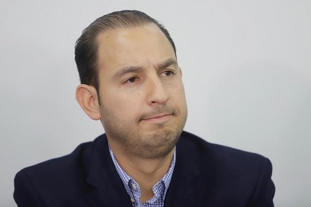 Se avecina en Puebla elección de Estado, dice Marko Cortés