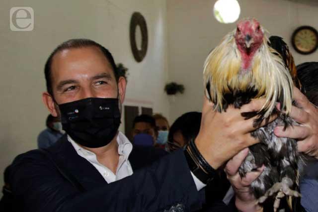 Niega Marko Cortés traje a la medida para reelegir a Huerta