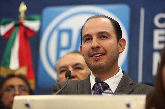AMLO dice que Marko Cortés hizo el ridículo con su denuncia en la OEA