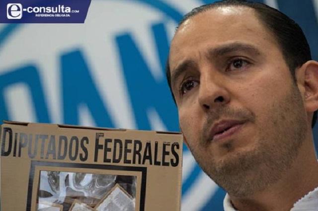 Elegirá Marko Cortés candidaturas del PAN a diputaciones de Puebla