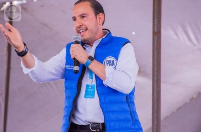 Reeligen a Cortés como líder del PAN y manda mensaje a Puebla