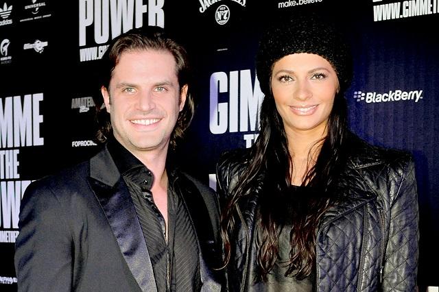 Mark Tacher y Cecilia Galliano solo son amigos
