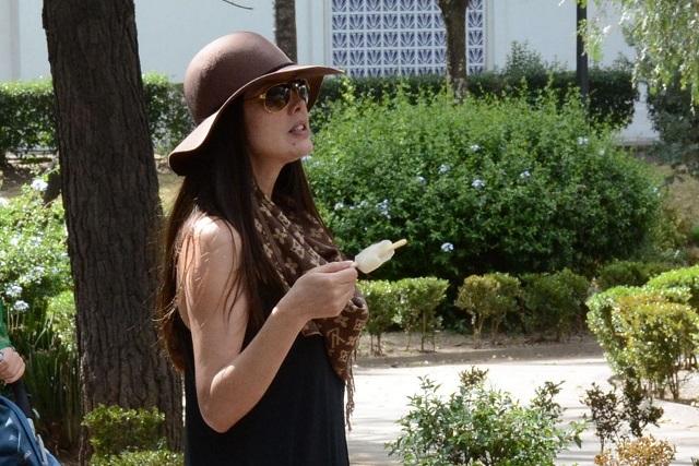 Marlene Favela embarazada da rienda suelta a los antojos