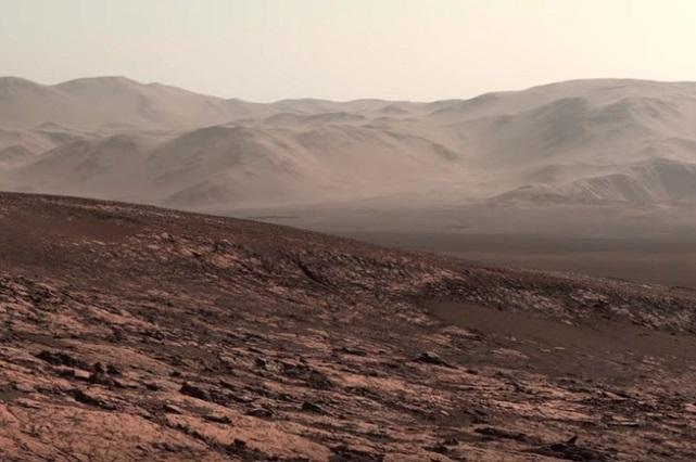 Curiosity halla moléculas en Marte que mostrarían que ahí hubo vida