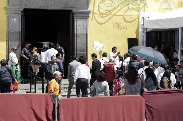 Organizaciones campesinas acusan bloqueo de funcionarios de Segob