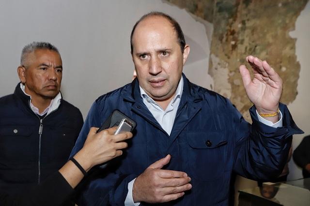 Rechaza Manzanilla interés en contienda por la alcaldía