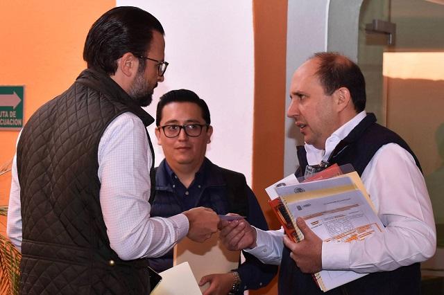 Manzanilla pide informe a FGE de presunto espionaje de Eukid