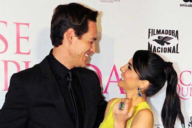 Martha Higareda se casó en secreto con el actor Cory Brusseau
