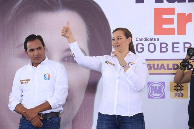 Gobierno estatal promueve candidatura de  Alonso: PT y Morena