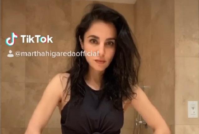 Critican a Martha Higareda y dicen no tiene gracia en sus videos de Tik Tok