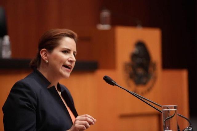 Retorno de Barrales al Senado elimina a poblana Martha Tagle