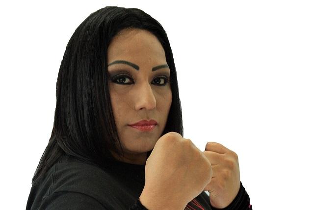 Mary Apache una luchadora bien preparada