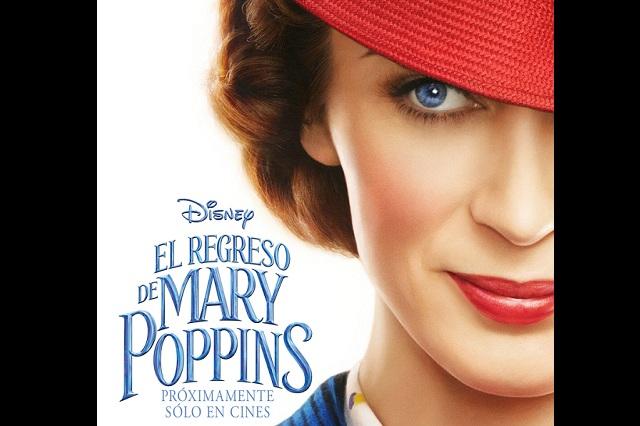 Disney presenta el primer adelanto de El regreso de Mary Poppins