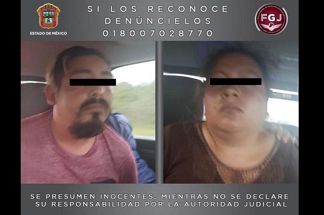 Atrapan en Puebla a peligrosos extorsionadores del Edomex