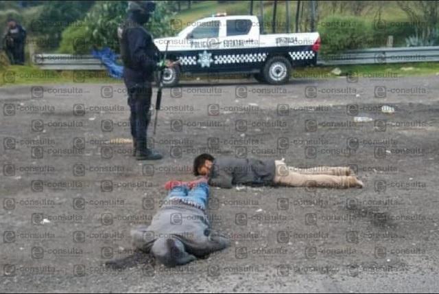Masacran a 6 presuntos ladrones en la autopista Puebla-Veracruz
