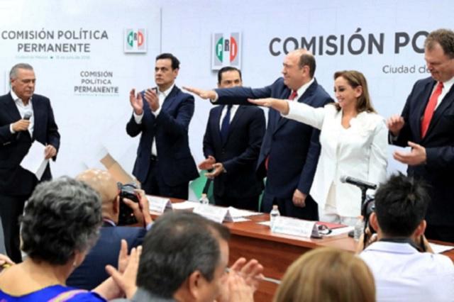 Asume Ruiz Massieu dirigencia del PRI y afirma que no teme ser oposición