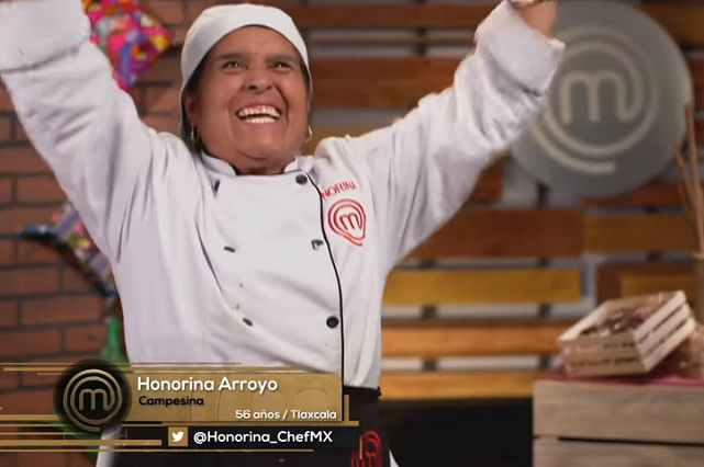 Con mole, barbacoa y donas Honorina gana MasterChef México 2017