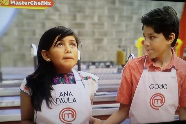 Ana Paula y Goyo abandonan la cocina de MasterChef Junior México