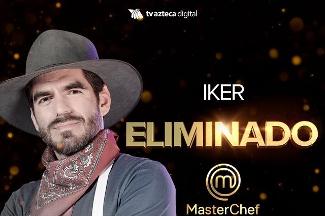 Iker es eliminado de MasterChef y Adriana acusa a Meche