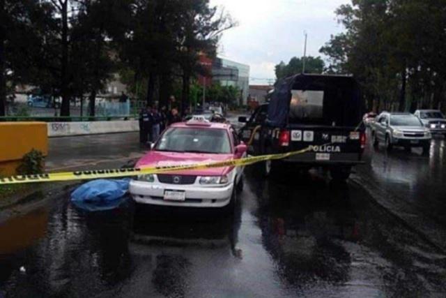 Matan a taxista que salpicó una camioneta en la que viajaba una pareja