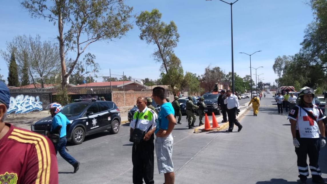Grupo armado mata a 6 agentes viales en Salamanca, Guanajuato