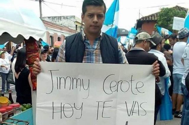 Matan en Guatemala a activista crítico del presidente Giammattei