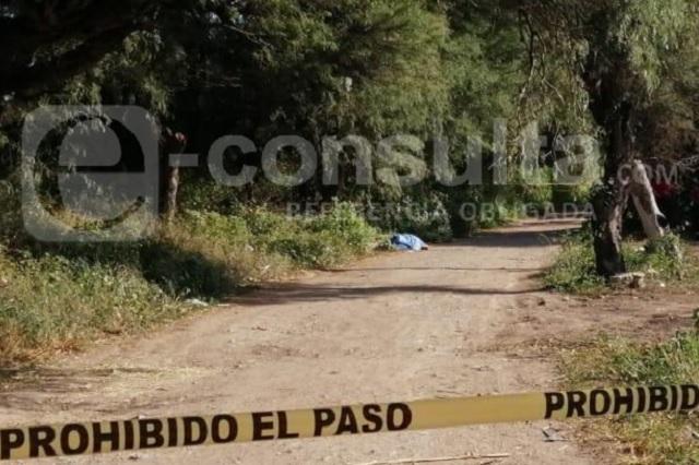 Asesinan a un hombre de ocho disparos en Tehuacán