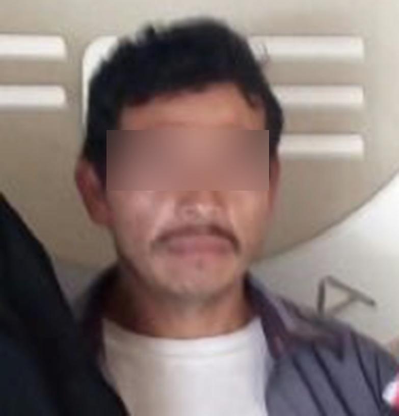Atrapan a sujeto acusado de violar a su sobrina en Zacapoaxtla