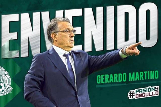 Presentan a Gerardo Martino como el nuevo técnico del tricolor