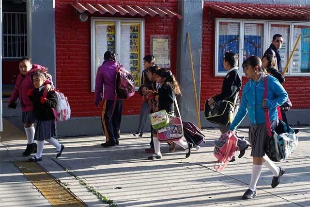 Crece matrícula en 41 mil alumnos para nuevo ciclo escolar
