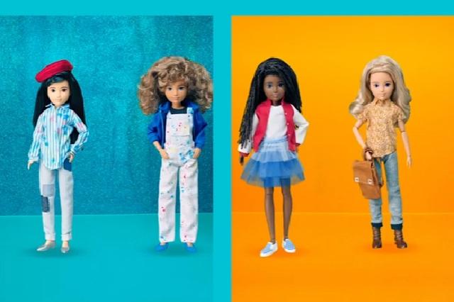 Mattel lanza línea de muñecos sin género
