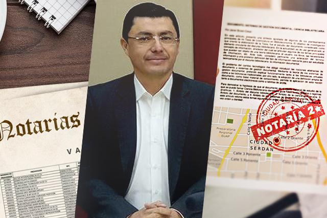 Suspenden al director de Notarías por investigación en Ciudad Serdán