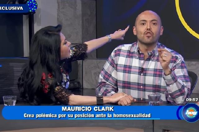 Mauricio Clark dice sentir compasión por Andrea Legarreta