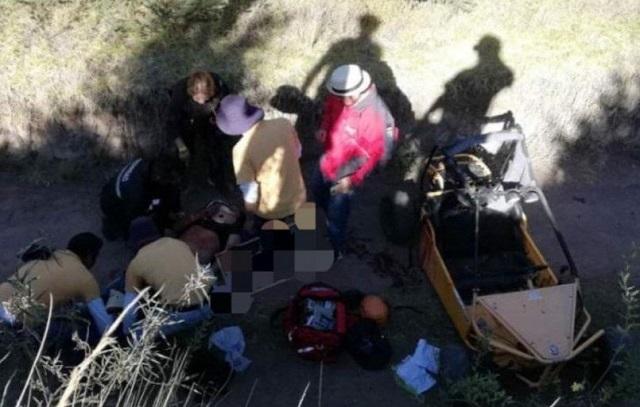 Familia de niño accidentado se negó a recibir ayuda: Volcanic Park
