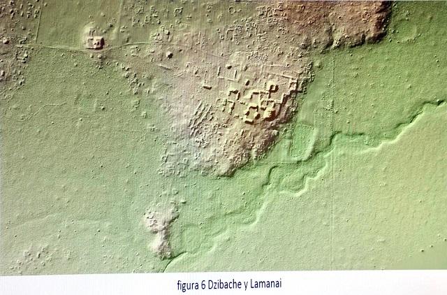 Revelan red de carreteras en un antiguo complejo urbano Maya