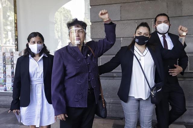 Mamá de Rivera asume presidencia de Comisión de Justicia de Morena